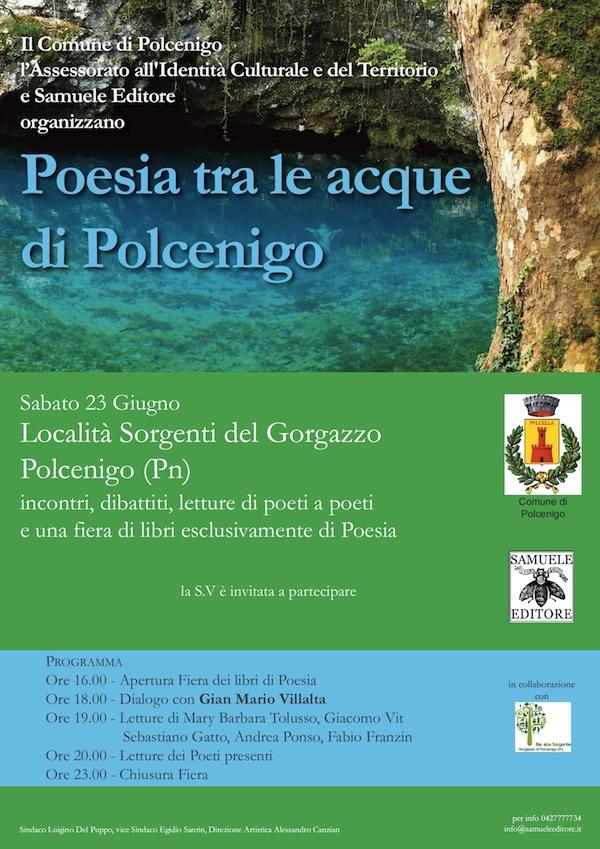 Poesia tra le acque di Polcenigo