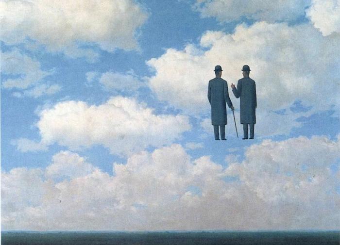 Magritte, L'infinita gratitudine