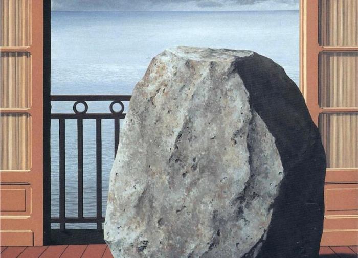 Magritte, Mondo invisibile