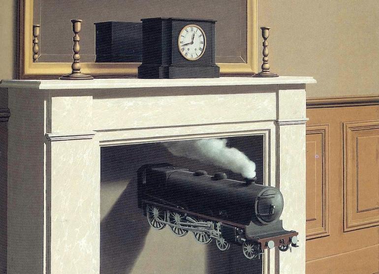 Magritte, Tempo pugnalato